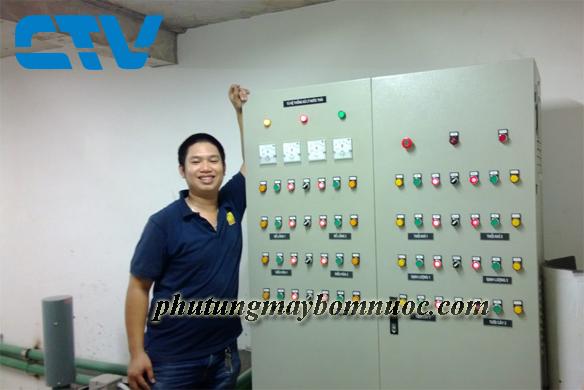 Thiết kế tủ điện cho hệ thống máy bơm cấp nước sạch