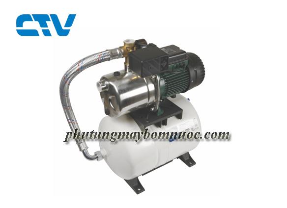 Ưu điểm của hệ thống máy bơm tăng áp dùng công tắc áp lực DAB