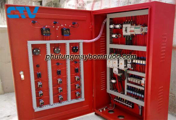 Thiết kế tủ điện cho hệ thống máy bơm cứu hỏa